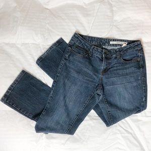 Dkny blue jeans size 6 euc straight leg